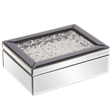 Howard Elliott 99053 - Mirrored Jewelry Box w/ Jeweled Lid