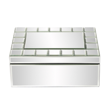 Howard Elliott 99088 - Mirrored Rectangular Jewelry Box