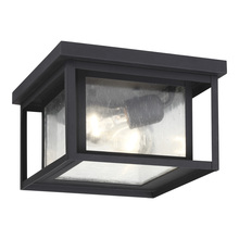 Sea Gull 78027-12 - Two Light Outdoor Ceiling Flush Mount