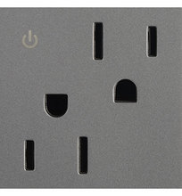 Legrand ARCD152M10 - Tamper-Resistant Dual Controlled Outlet, 15A