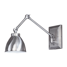 Norwell 8471-PW-MS - Maggie Swing Arm Sconce