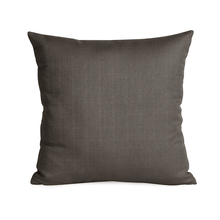 "Howard Elliott 1-201F - Howard Elliott Sterling Charcoal 16"" x 16"" Pillow - Down Insert"