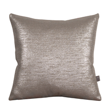 "Howard Elliott 1-237F - Howard Elliott Glam Pewter 16"" x 16"" Pillow - Down Insert"