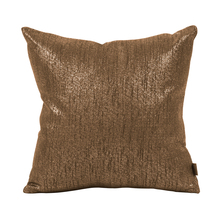 "Howard Elliott 1-293F - Howard Elliott Glam Chocolate 16"" x 16"" Pillow - Down Insert"