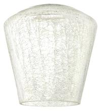 Westinghouse 8505800 - Clear Crackle Shade