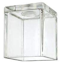Westinghouse 8506700 - Clear Block Shade