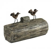 Sterling Industries 93-19311 - Little Birds On A Log Box