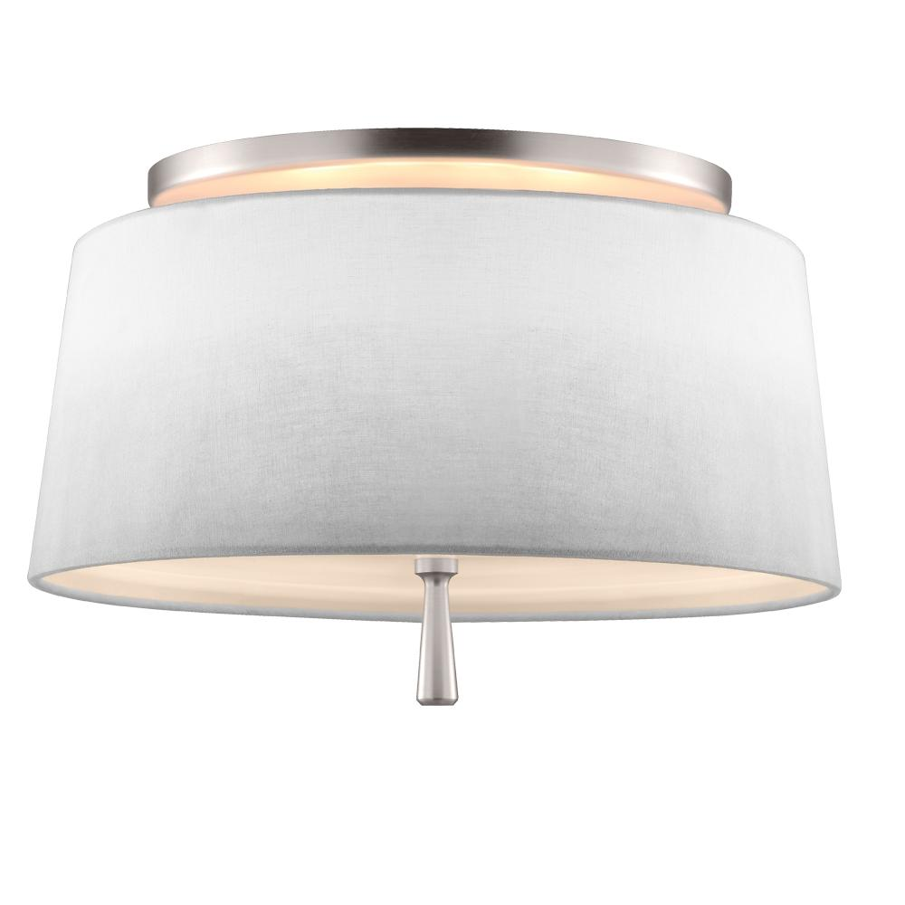 2 light semi flush sf316sn la light art of durango