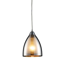 ELK Lighting 10073/1 - Reflections 1 Light Pendant In Polished Chrome